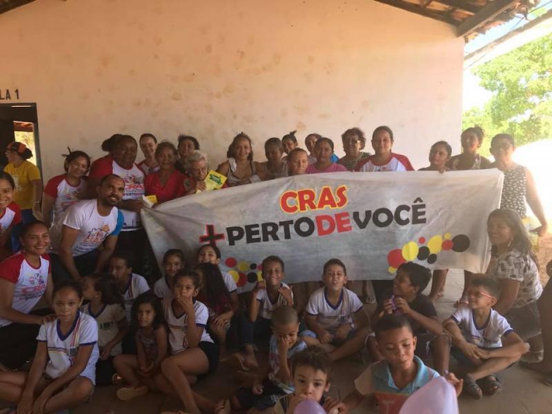 Secretaria Municipal de Francisco Ayres visita a Comunidade Tocuns