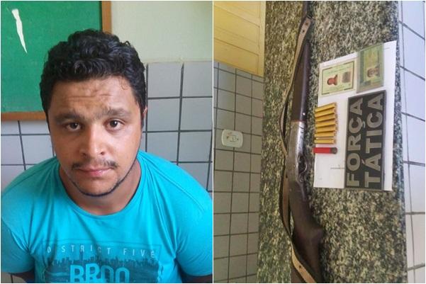 Foragido do Distrito Federal é preso no Piauí