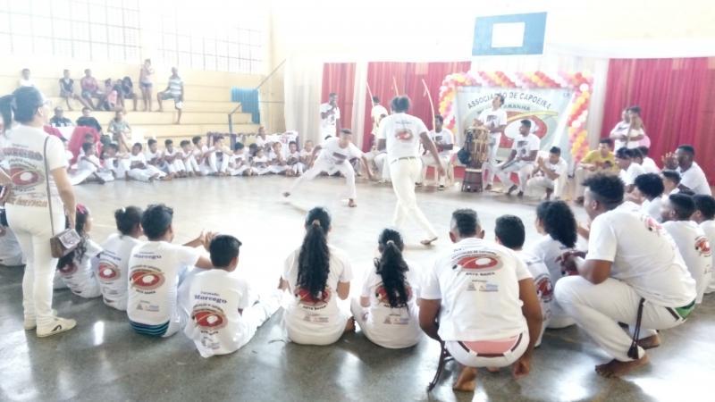 Arte Bahia Capoeira realizou 2° Festival de Capoeira em Antônio Almeida/PI