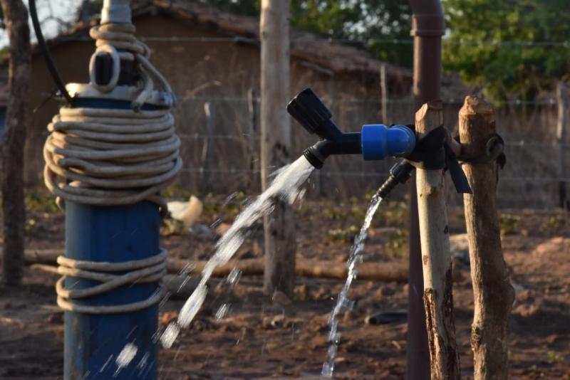 Sistema de abastecimento de água chega à comunidade Lameiro