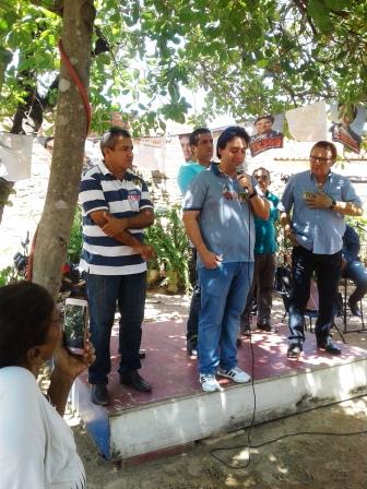 Candidato a Reeleição, Flavio Nogueira Junior, visita Alto Longá