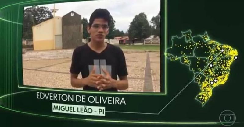 Equipe do Fantástico visitará município do PI após pedido de morador