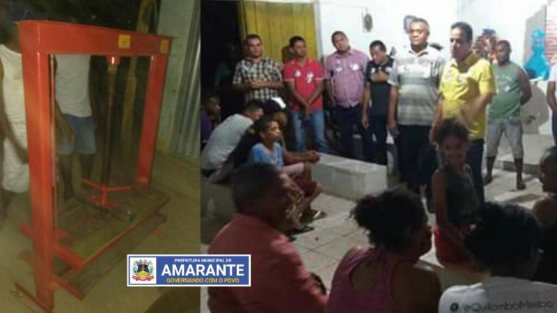 Prefeitura de Amarante entrega Casa da Farinha na Comunidade Mimbó