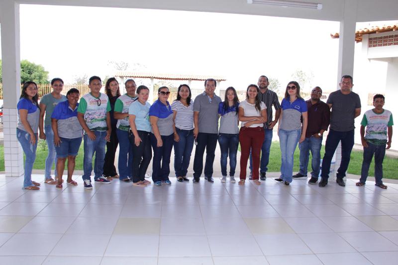 Aula inaugural da Escola Padre João Batista Gougeon