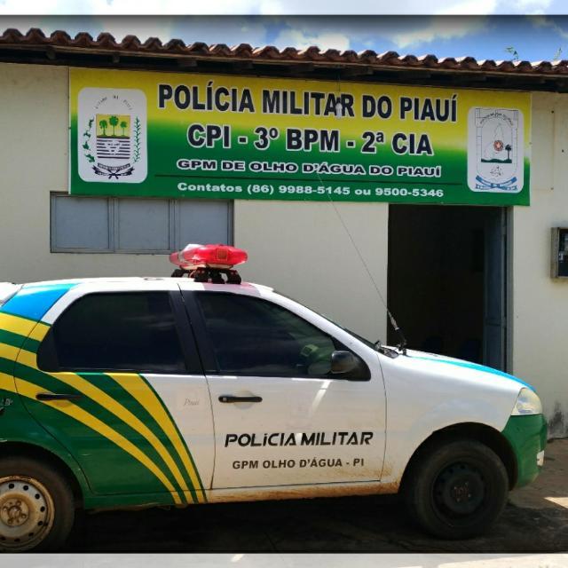 GPM de Olho D'água faz levantamento de ocorrências policiais