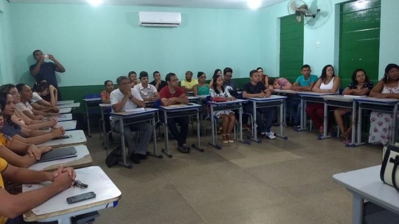 Aula inaugural do curso de bacharelado em Administração