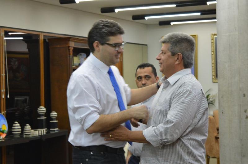 Deputado Luciano Nunes visita ex-governador Zé filho na Fiepi