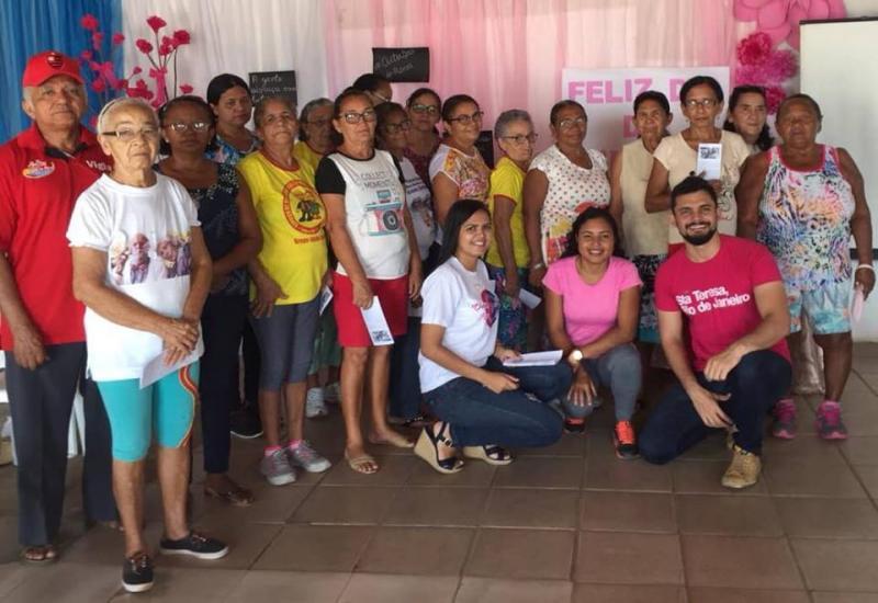 Prefeitura de Lagoa do Piauí realiza ação ao Dia Nacional do Idoso