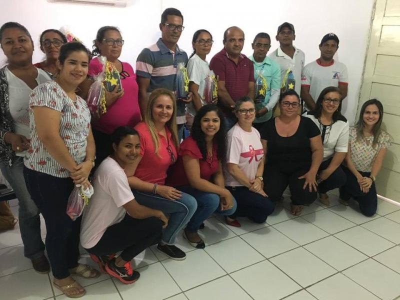 Agentes de saúde são homenageados em Lagoa do Piauí
