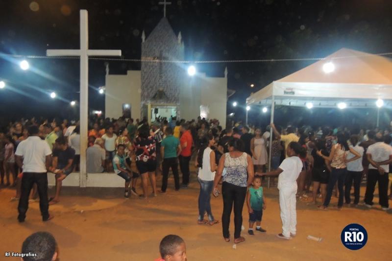 Festejos|Quarto dia de festividades de N.Sra. Aparecida em M. de Areia
