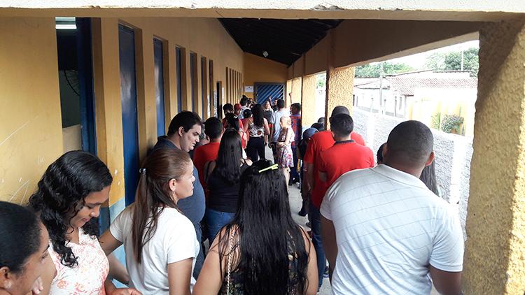 Votação no município de Uruçuí ocorre dentro da normalidade