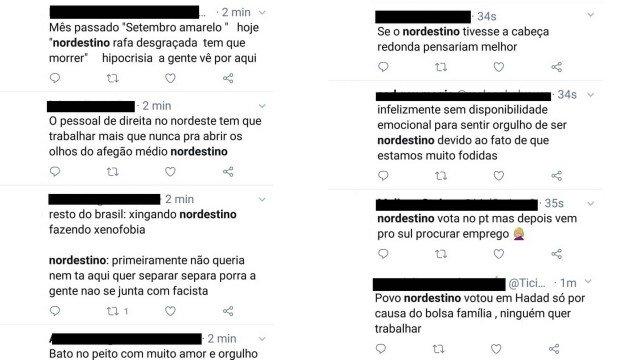 Nordestinos são atacados nas redes sociais após resultado do 1º turno