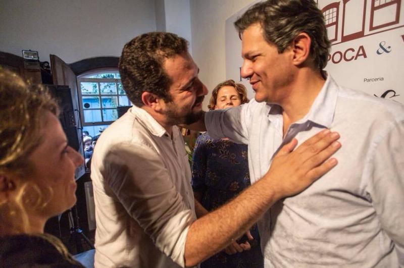 Boulos anuncia apoio a Haddad no segundo turno para presidência