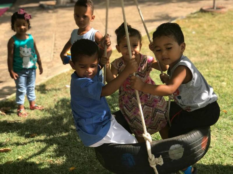 Secretaria realiza a 'Semana da Criança' em Francisco Ayres