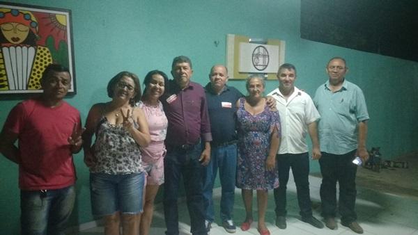 Prefeita Doquinha e seu grupo mostra força política em Colônia do Gurgueia