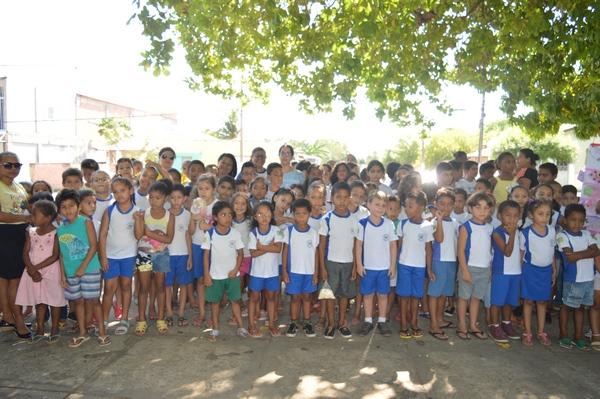 Mais Educação desenvolve ação em homenagem ao dia das crianças