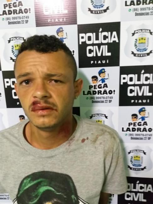 Acusado de roubar leituristas de água e energia é preso em Teresina