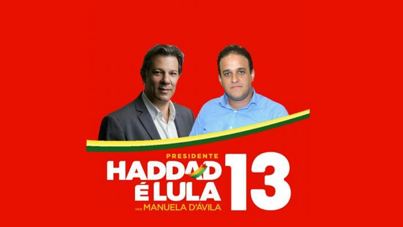 AMARANTE: Prefeito Diego Teixeira declara apoio para Fernando Haddad
