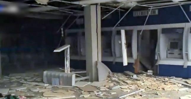 Bandidos explodem agência da Caixa Econômica Federal de Timon