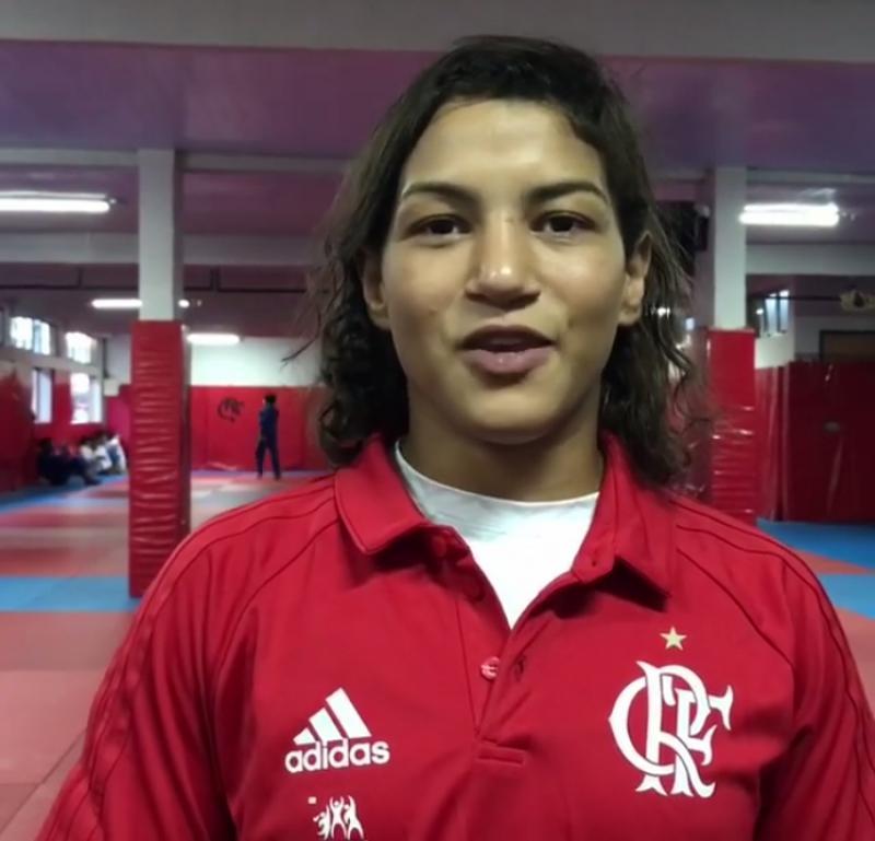 Piauiense Sarah Menezes conquista bronze no Judô