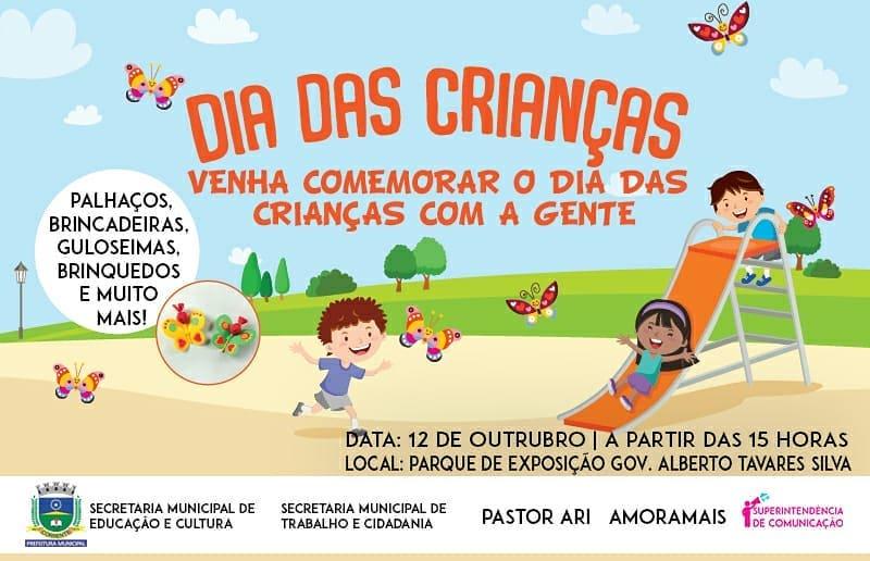 Prefeitura de Corrente promove festa para o Dia das Crianças