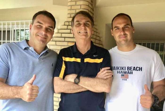 Filhos de Bolsonaro virão ao Piauí para fazer campanha