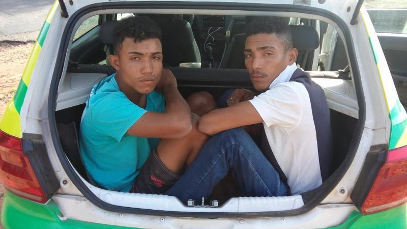 Assaltantes são presos e reconhecidos por vítima em Teresina