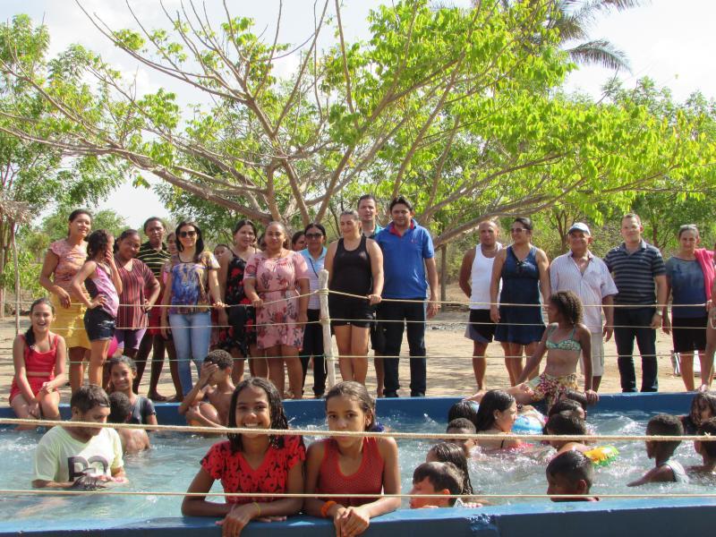 Secretaria de Educação de Lagoinha do Piauí realiza tarde alegre com alunos