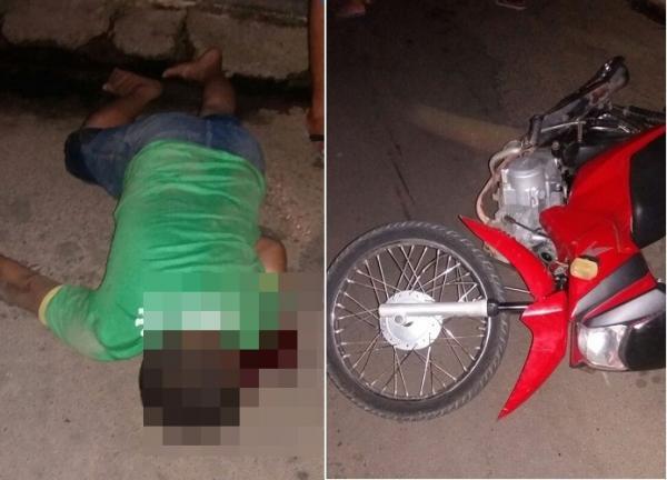 Colisão entre motos deixa um morto em Água Branca