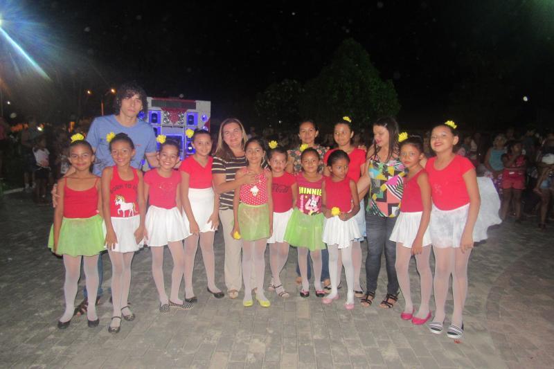 Prefeitura de São João do Arraial realizou festa em homenagem às crianças