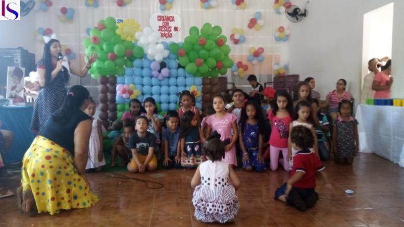 Assembleia de Deus de Antônio Almeida/PI realizou a festa das crianças