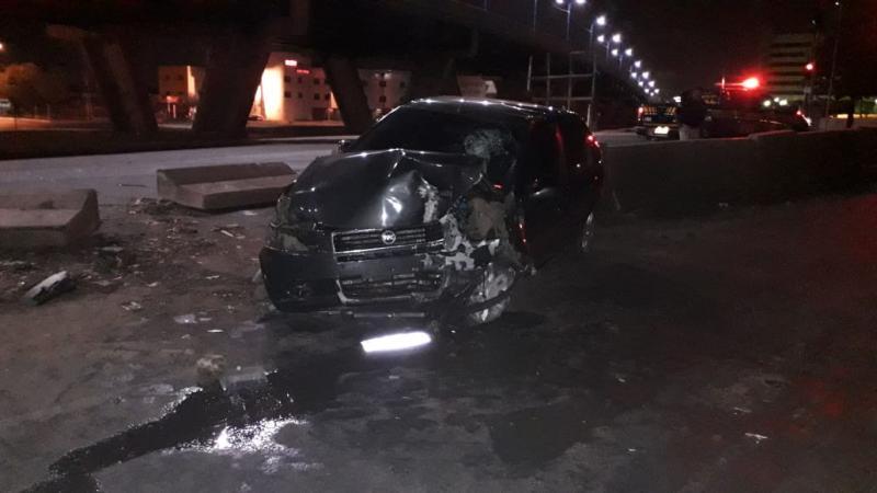 Homem morre após colidir em mureta de proteção na BR-343 em Teresina