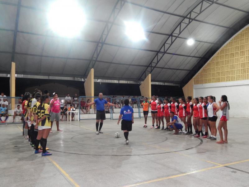 Grande final nesta sexta 12/10 do Campeonato de Futsal 2018 em Beneditinos