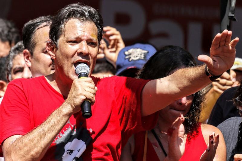 PT do Piauí realiza ato 'Haddad presidente' em Teresina
