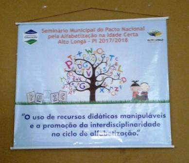 Educação realiza Seminário do PNAIC em Alto Longá