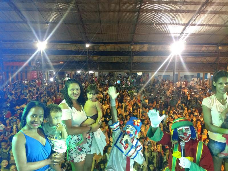 Secretaria de cultura de Valença realiza festa das crianças