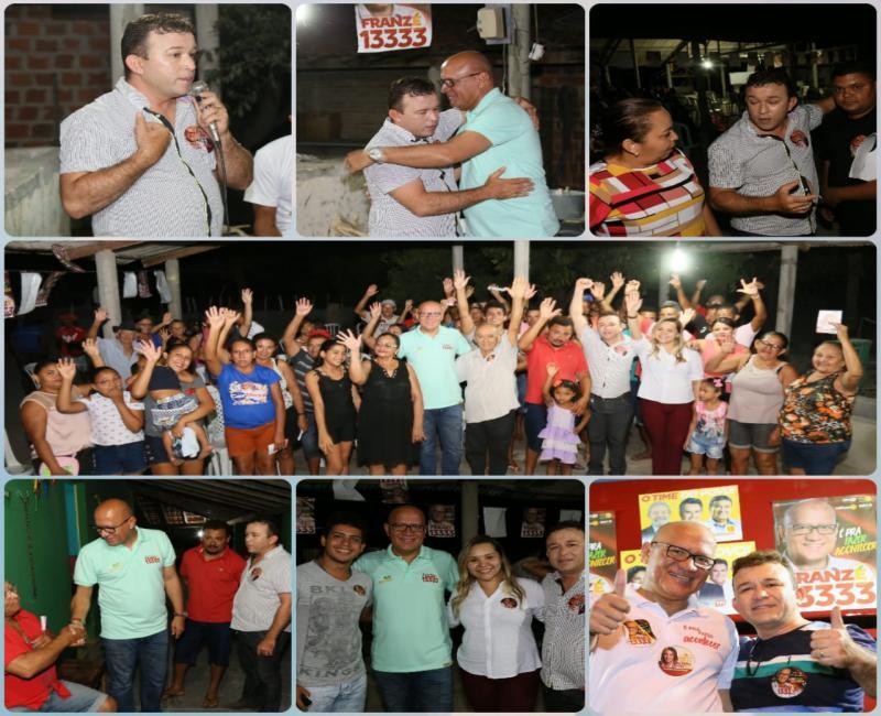 Plínio Melo agradece apoio dado ao candidato Franzé Silva em Cabeceiras