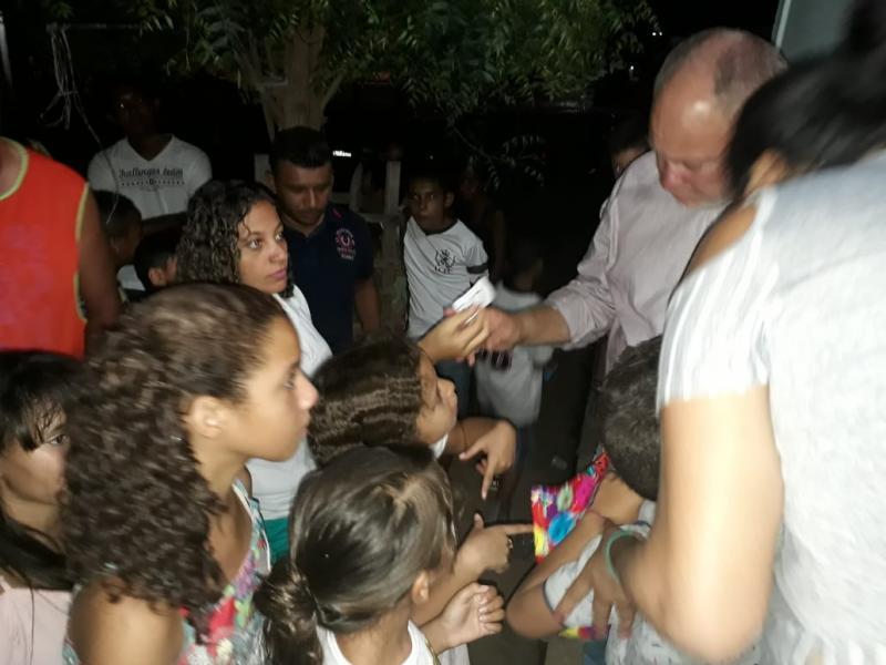 Veriador galego de Zumiro promoveu festa em comemoração ao dia das crianças