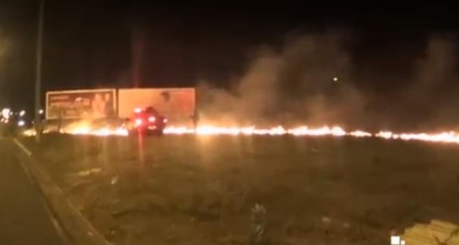 Incêndio de grandes proporções assusta moradores em Teresina