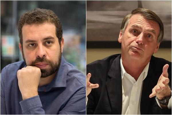 Boulos e Bolsonaro trocam farpas após declaração do líder do MTST