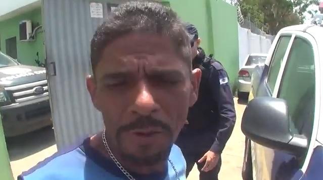 Homem é preso acusado de agredir a mãe a pedradas em Teresina