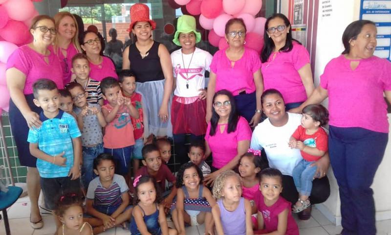 Secretaria de Saúde de Lagoa do Piauí realizou semana da criança