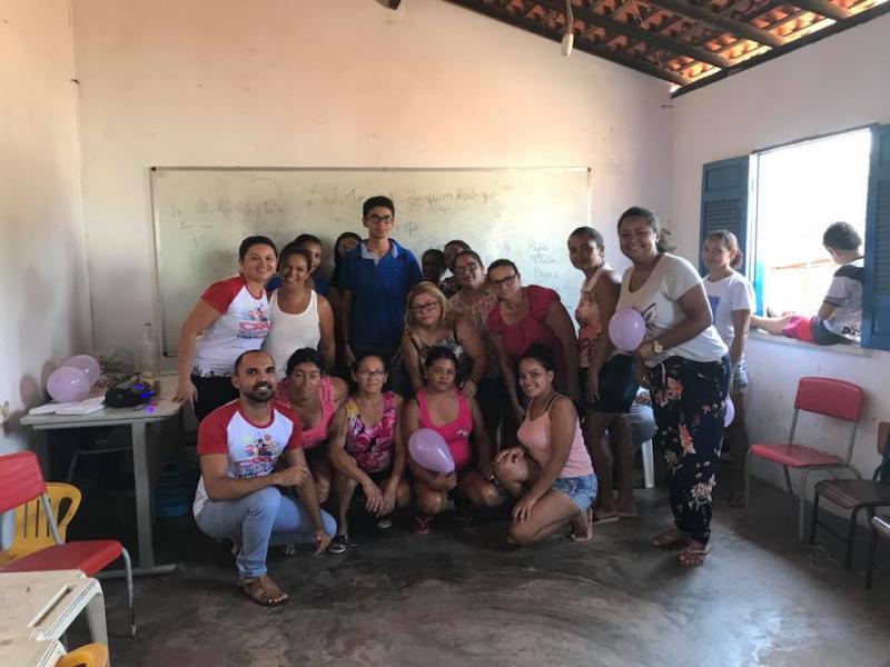 CRAS itinerante é realizado na comunidade Buriti Grande em Francisco Ayres