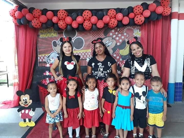 Crianças da Creche Pro Infância comemoram Dia das Crianças