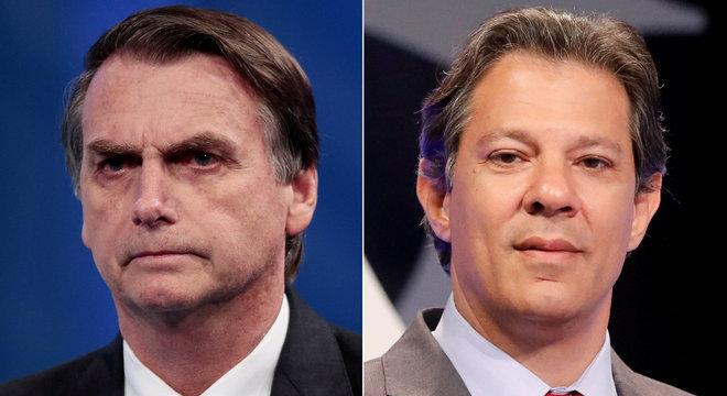 Ibope: Bolsonaro defende os ricos e Haddad, os pobres