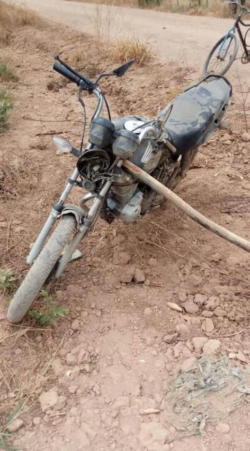 Acidente envolvendo motos deixa feridos em Agricolândia