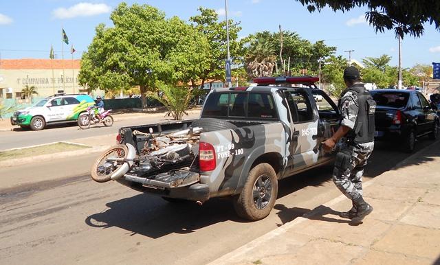 Polícia recupera motocicleta tomada de assalto em Esperantina