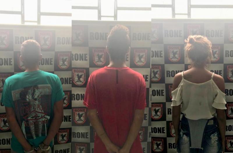 Polícia prende acusados de tráfico de drogas em Teresina