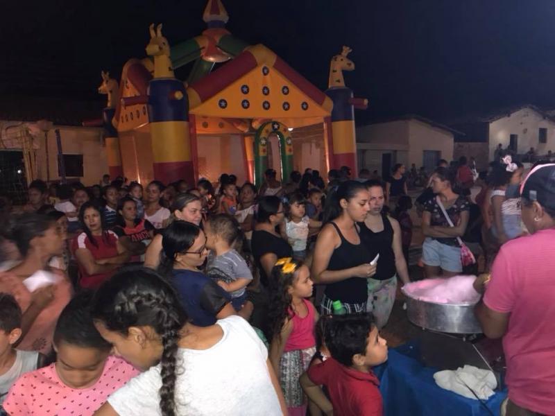 Prefeitura Municipal realiza festa do dia das crianças