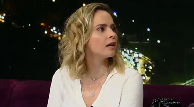 Ana Paula Renault briga e abandona gravação do programa do Porchat